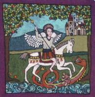 St. George and the Dragon Felt Kit